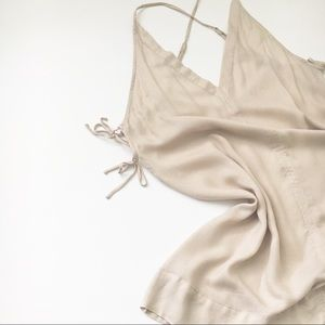 Intimately Free People Beige Slip Dress